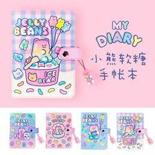 A6 Binder Journal Kawaii Notepad Notebook Korean Diary Spiral Handbook for Girls