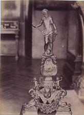 Cluny Chenets Renaissance Paris France Vintage Albumine ca 1880