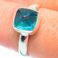 Blue Fluorite 925 Sterling Silver Ring Size 8.25 Ana Co Jewelry R35518F