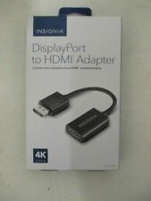 Insignia DisplayPort to HDMI Adapter - Black - NS-PD94502 Used, Working Fast Shp