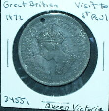 Great Britain 1872 Queen Victoria Visits St. Paul Cathedral Medal