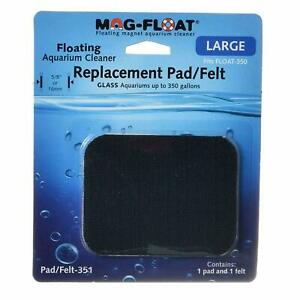 MAG FLOAT SCRAPER FITS LARGE 350 GLASS ATTACHES TO CLEANER FELT PAD REPLACEMENT