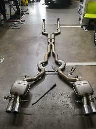 BMW M5 F10 exhaust system