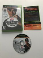 Xbox Tiger Woods PGA Tour 2005 Video Game Complete with Manual