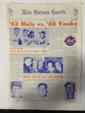 Mets Oldtimer Gazette Paper July 8 1St Issue Vintage Nm  Seaver Rookie Year