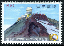 Japan 833, MNH. Meteorological Radar Station on Mt. Fuji, 1965