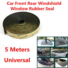 5Meter Waterproof 3M Rubber Sealed Strips Trim For Car Windshield Sunroof Window