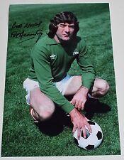 Pat Jennings SIGNED 12x8 Photo Autograph Arsenal Football AFTAL Memorabilia COA
