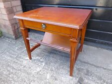 Vintage Sofa /Side Table with Magazine Rack and Drawer