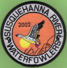 "Pa Pennsylvania Fish Game Commission 2002 SRWA Snow Goose 4"" Waterfowl Patch"