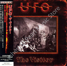 UFO THE VISITOR CD MINI LP OBI Phil Mogg Vinnie Moore Paul Raymond oop old stock