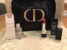 Christian Dior VIP Sparkling Cosmetic Bag Gift set inc Joy EDP Rouge Dior Lip
