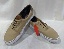 Vans Men's C&L Era 59 Khaki Material Mix Skate Shoes - Assorted Sizes NWB