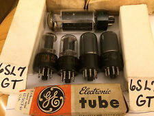 Lots of 5 Vintage silvania and RCA Vacuum Tubes TESTED (6SL7,12SN7,5U4GB)
