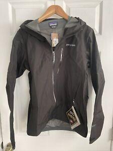 Patagonia Mens Black Calcite Jacket - Small - Gore-Tex