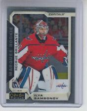 18/19 OPC Platinum Washington Capitals Ilya Samsonov RC card #165