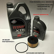 FORD MONDEO MK3 2.0 2.2 TDCI SERVICE KIT OIL OIL FILTER (FITS: FORD MONDEO MK3)