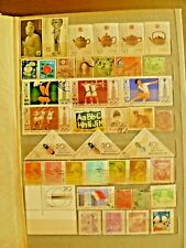 Far East Asia old stamp collection including China, Japan, Hong Kong, Korea etc.
