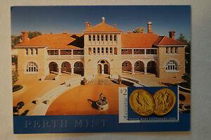 Perth Mint - Western Australia - Vintage - Postcard.