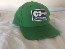 cb33b59f00f Vintage Rare Patagonia Live Simply Guitar Kelly Green Trucker Hat Authentic