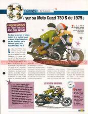MOTO GUZZI 750 S 1975 Joe Bar Team Fiche Moto #005309
