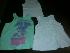 Girls Lot Of 3 bundle Tops Size 3T Gap Lands End Sleeveless Cute Summer Great