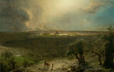 Jerusalem from the Mount of Olives Frederic Edwin Church Israel City B a3 01913