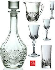 RCR Crystal Aurea Range Decanter Tumblers Goblets Wine Glasses Champagne Flutes