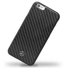 Étuis, housses et coques noirs en fibre de carbone pour téléphone mobile et assistant personnel (PDA) Apple