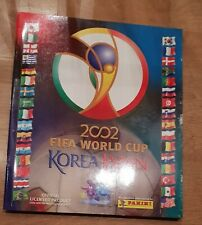 Panini WM 2002 Sammelalbum WC 02 KOMPLETT Album mit allen Sticker Stickeralbum