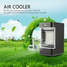 Portable Mini Air Conditioner Bedroom Cooling Cooler Small Fan Desktop Home Use