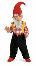Cute Garden Gnome Toddler Child Costume Halloween Jumpsuit 12-18 Months