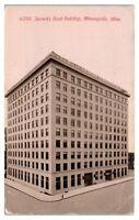 Security Bank Building, Minneapolis, MN Postcard