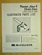 mcculloch pressure washer manual