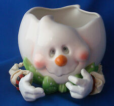 Ceramic Candy Bowl for Halloween treats Whimsical Ghost Midwestern Home Products