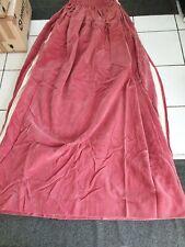 """Vintage dusky pink 100%  nylon velvet W 90"""" L 65""""Retro"""