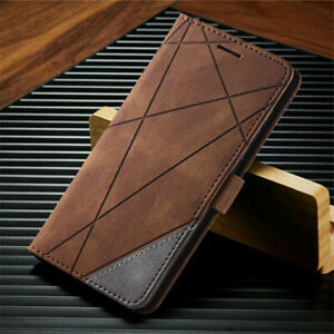 For Samsung Galaxy S21 Ultra S21+ Magnetic Leather Wallet Flip Stand Case Cover