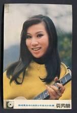 Mega Rare Taiwan Singer Xi Xiu Lan Autograph Signed Color Photo Card PC662