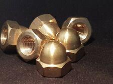 SOLID BRASS DOME NUTS Brass Acorn Nuts Solid Brass Cap Nuts M3 M4 M5 M6 M8 M10