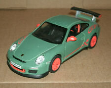 1/36 Scale 2010 Porsche 911 GT3 RS Diecast Model Coupe - Kinsmart KT5352 Green