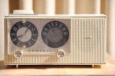 admiral tube clock radio