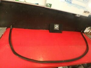 99 1999 BMW E36 323i REAR CONVERTIBLE TOP GASKET SEAL WEATHER STRIPPING OEM