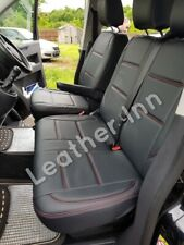 Vw Transporter T5 Seat Covers 6 Seater 1+2 front row And Tripe Rare Bench