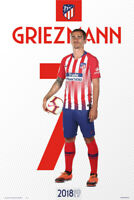 """ANTOINE GRIEZMANN ATLETICO MADRID WALL POSTER 24""""x36 OFFICIALLY LICENSED"""