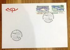 Iceland Post Official Illustrated FDC 2000.09.14. Fishes inkl. 250kr Capelan