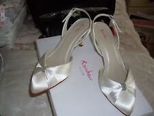 Rainbow Club Mid Heel (1.5-3 in.) Slingback Bridal Shoes