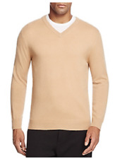 The Men's Store at Bloomingdale's Cashmere V-Neck Sweater, Size M. MSRP $198