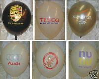 1000 Printed Balloon Company Logo balloon 2 colour logo PS