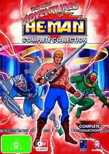 New Adventures of He-Man Complete Collection (DVD, 2009, 12-Disc Set) - Region 4