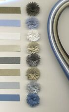 Quilling Paper Lake City PEARLIZED Multi Pk. NARROW 1/16 wd 8colors 50pc